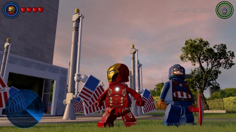 Lego Marvel's Avengers adds open worlds
