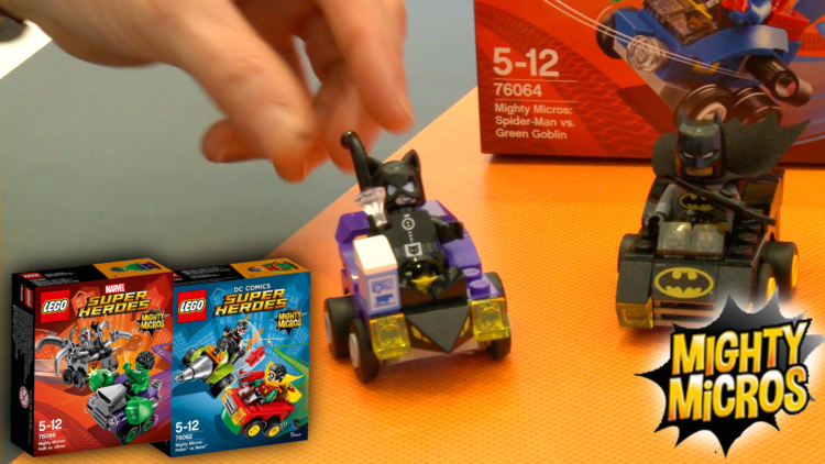 Lego Marvel and DC Super Heroes are tiny this year