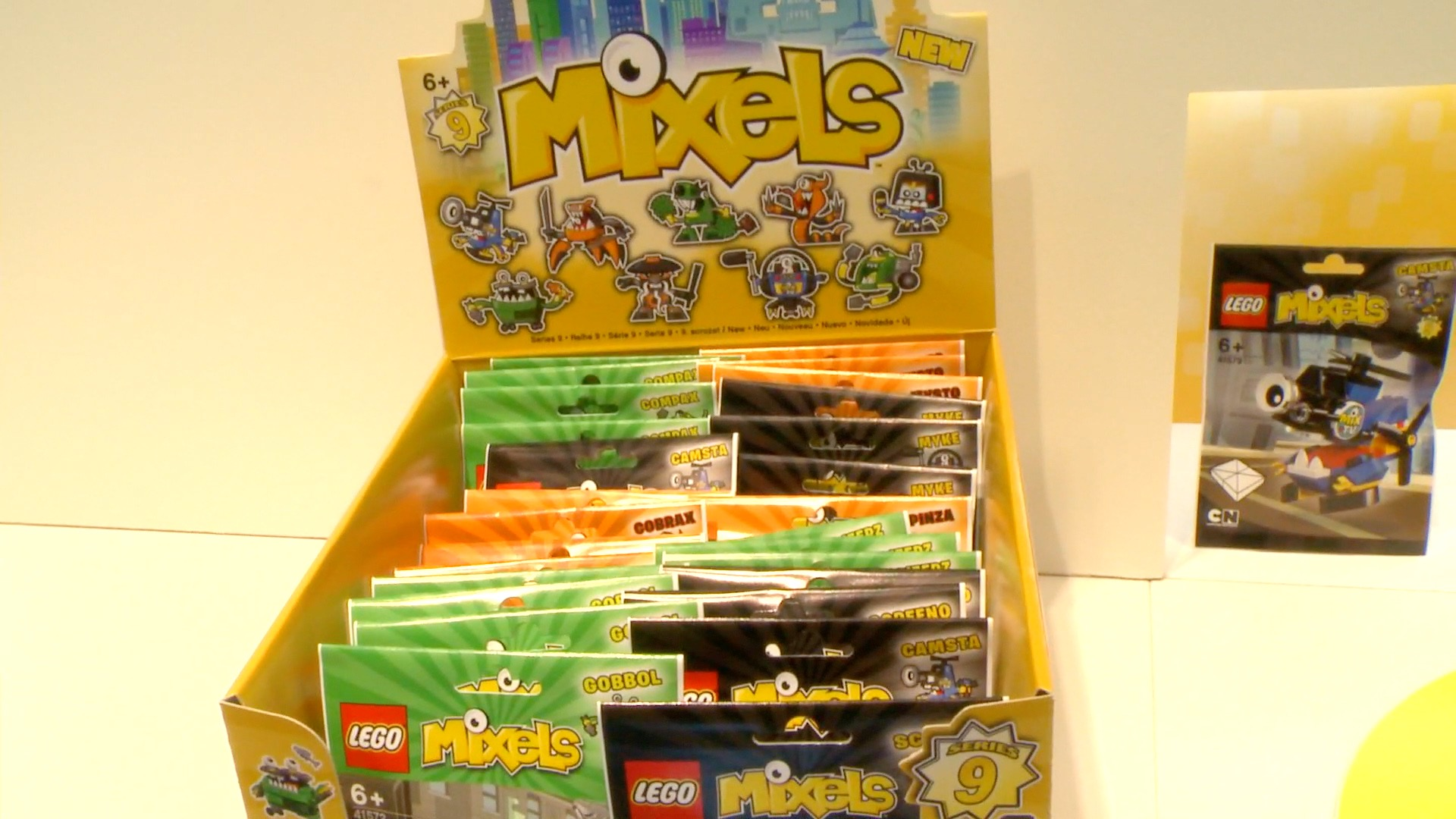 Mixels Series 9 tribes and toys spotted at Toy Fair