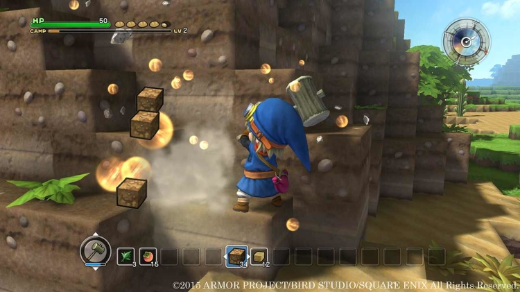 Dragon Quest Builders is basically Minecraft 'Adventure Mode'