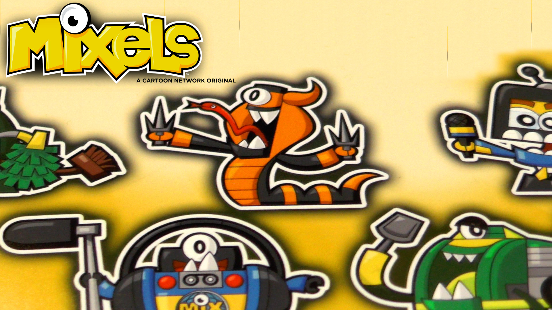 Mixels packaging reveals cartoon character art for season 3