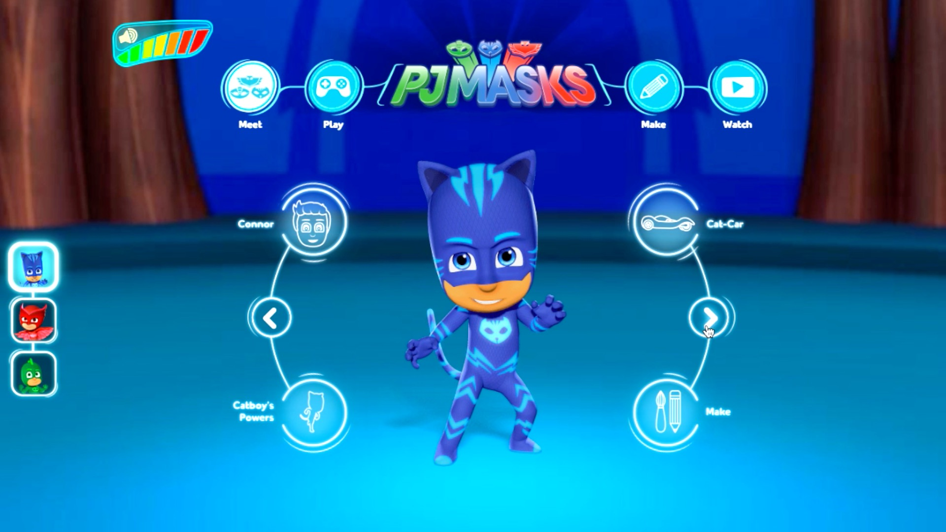 PJ Masks website brings games, craft and 3D characters