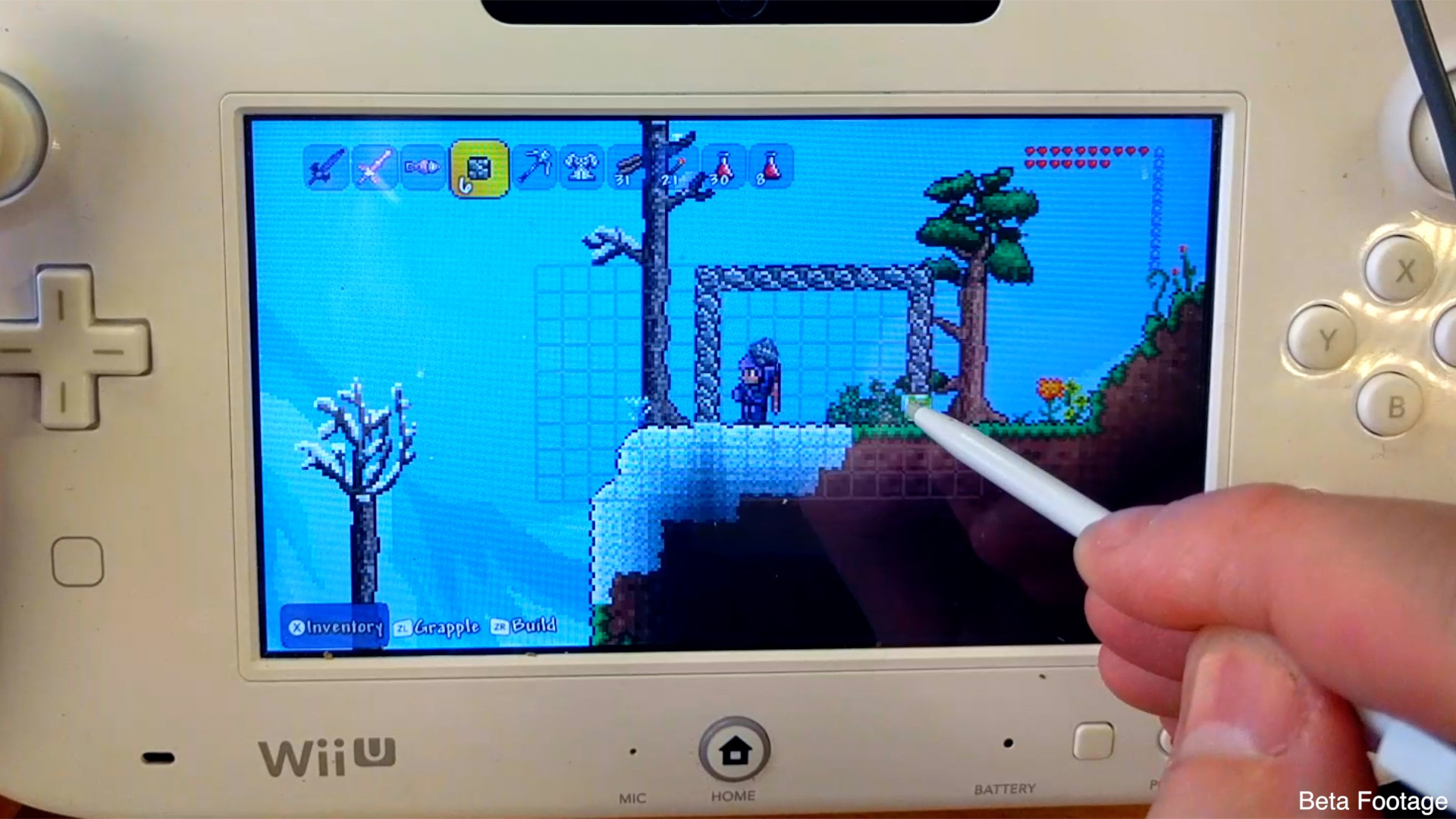 Terraria beats Minecraft to Wii U Gamepad