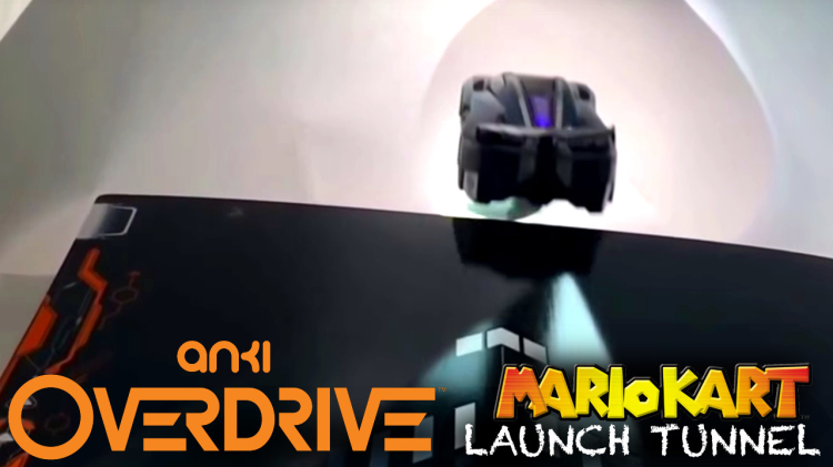 Mario Kart launch tunnels recreated in Anki Overdrive