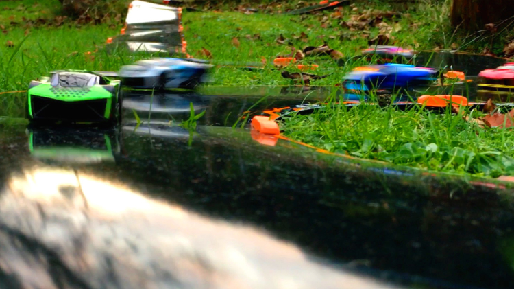 Win Anki Overdrive cars and track by creating imaginative circuits