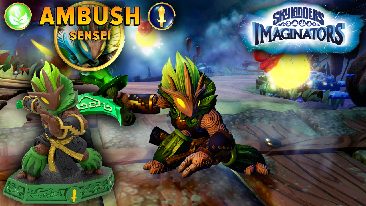 Ambush is new Sensie Knight Skylander at E3
