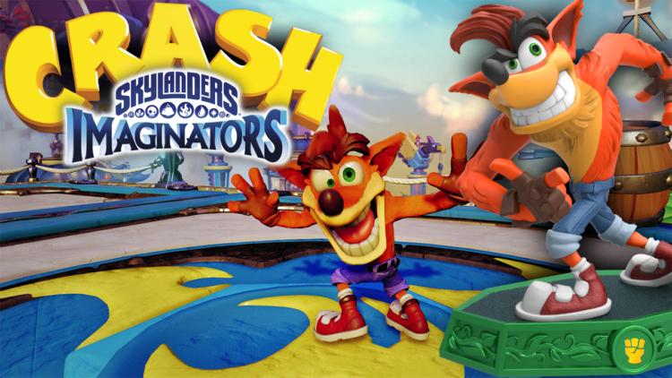 Crash Bandicoot coming to Skylanders