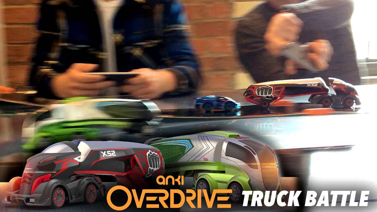 Anki Overdrive super trucks