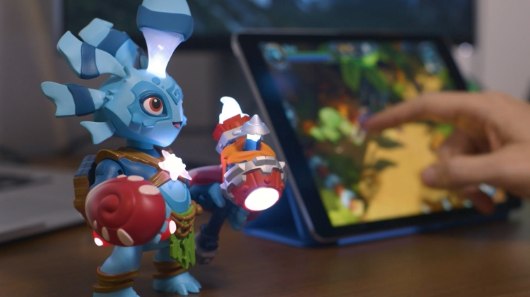 Lightseekers is Tomy's new toys to life video-game