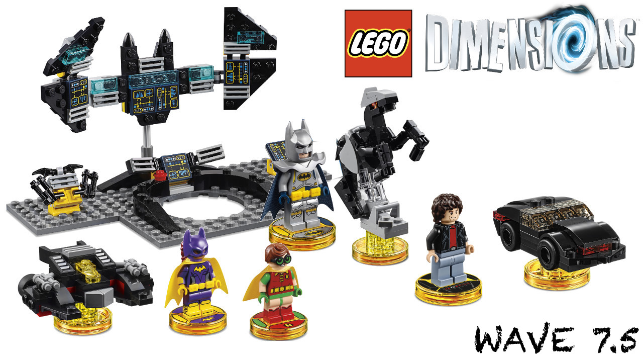 Wave 7.5 Lego Dimensions adds Lego Batman Movie and Knight Rider