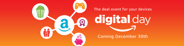 Shop Amazon Digital Day Dec 30th For Great Discounts on Games and More