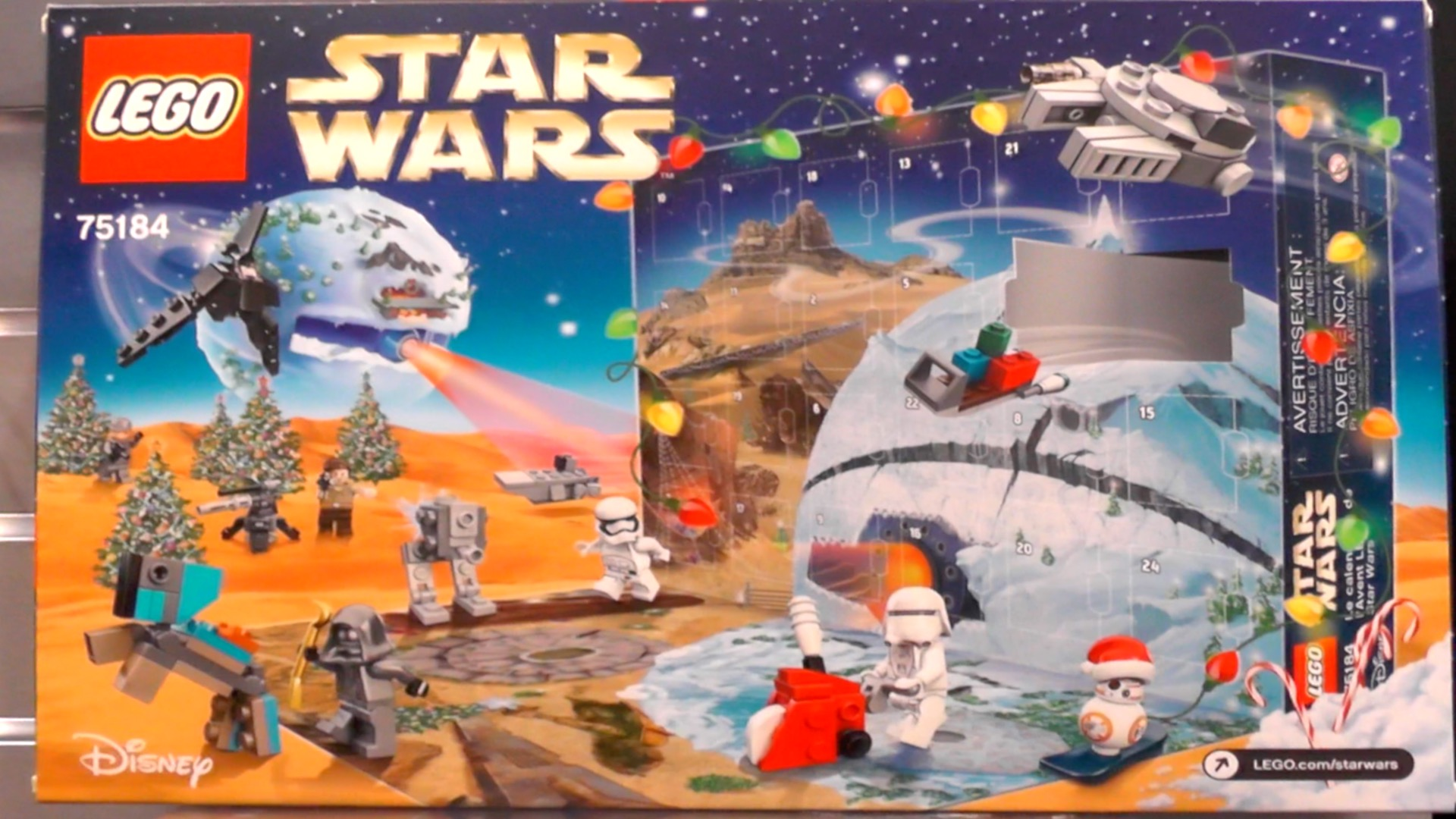 Lego Star Wars Advent Calendar for 2017 revealed