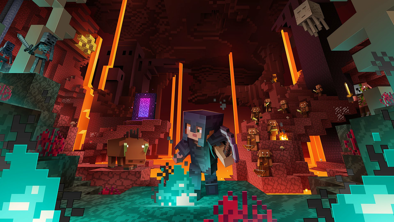 Minecraft Nether Update 1.16: the latest Minecraft update brings new biomes and mobs